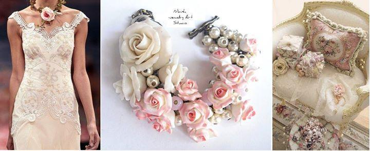 Свадьба - Nikush Jewelry Art Studio - unique... - Nikush Jewelry Art Studio - unique sculptural jewelry in floral design