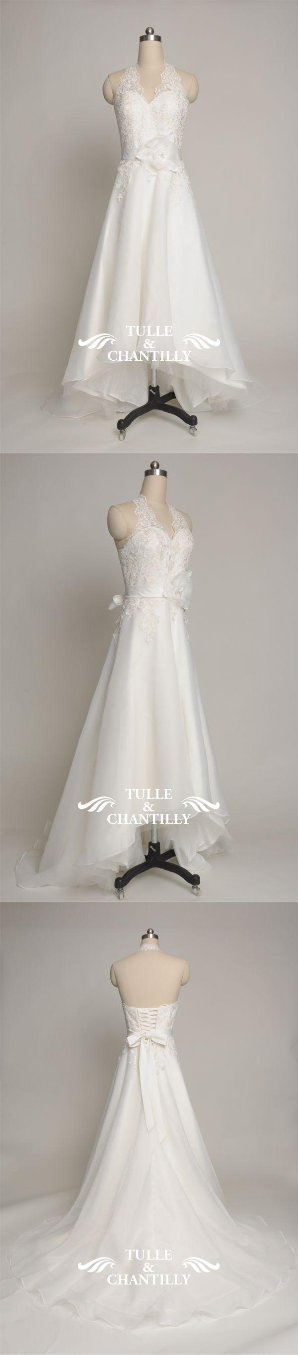 Свадьба - Michelle Customized Charming And Pretty High Low Wedding Gown [TCCMD1048] - $660.00 : Custom Made Wedding, Prom, Evening Dresses Online