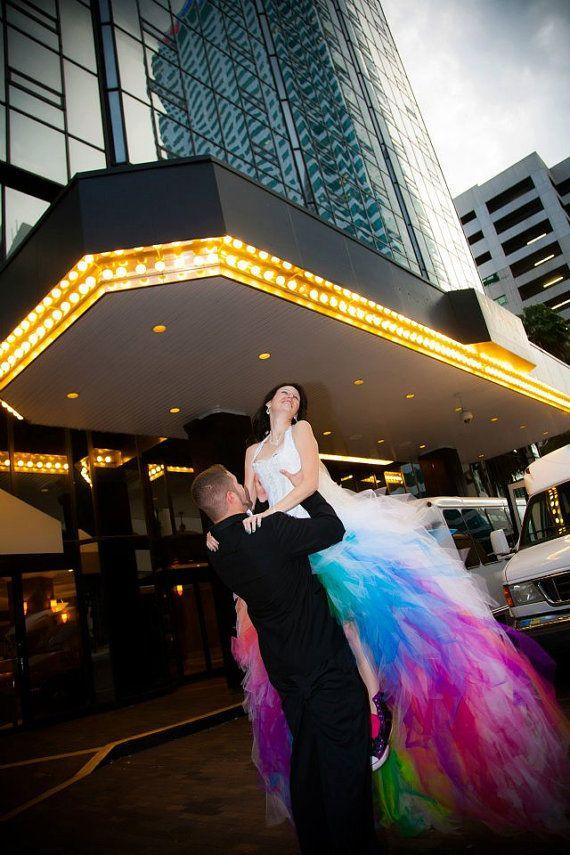 Wedding Theme Rainbow Wedding Dress 2374204 Weddbook