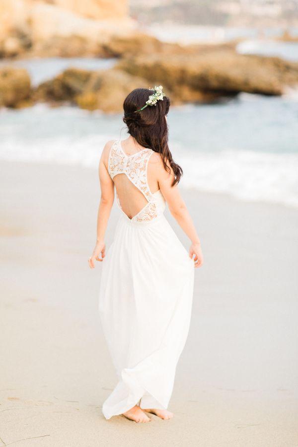 Wedding - Romantic Laguna Beach Engagement Session