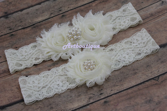 Wedding - wedding garter - garter wdding  - Garters - garter  for bride - wedding garter - bridal garter  - blue garter - gift for bride