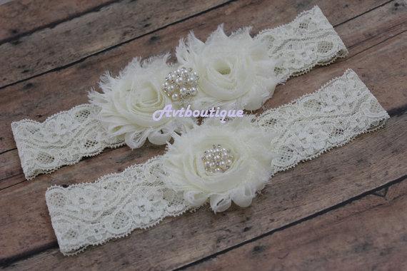 Mariage - wedding garter - garter wdding  - Garters - garter  for bride - wedding garter - bridal garter  - blue garter - gift for bride