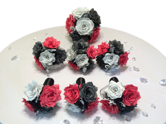 Dragon Themed Bouquet Package In Handmade Paper Flowers Fantasy
