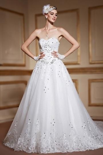 Свадьба - Sexy Backless Sweetheart Lace Up Ivory Lace Bridal Gown- AU$ 2,011.13 - DressesMallAU.com