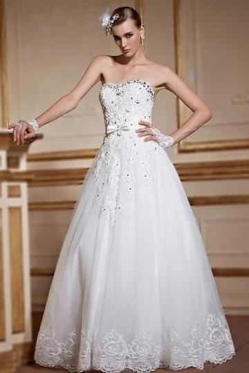Wedding - Sexy Sweetheart A Line Backless Lace Up Bridal Gown- AU$ 858.81 - DressesMallAU.com