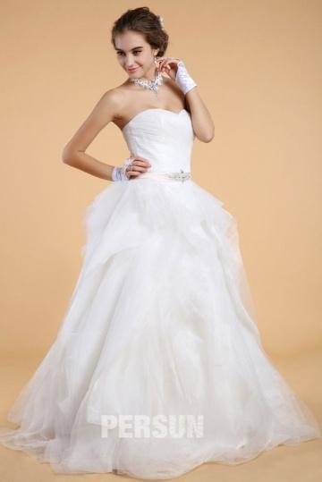 Wedding - Simple Sweetheart Backless Organza Princess Bridal Gown- AU$ 543.55 - DressesMallAU.com