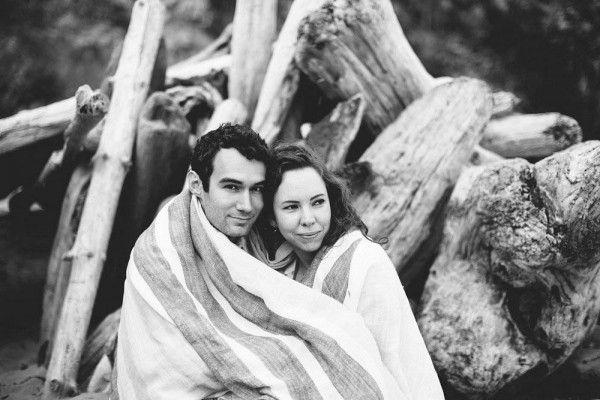 زفاف - Rustic Engagement Session In Mendocino, CA