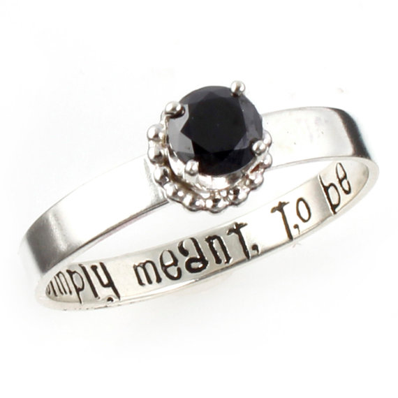 Nightmare Before Christmas Ring - Simply Meant To Be - Sterling ...