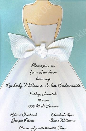Mariage - Bridal Shower Invitations