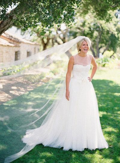 Mariage - Cathedral length Wedding Bridal Veil 108 inches white, ivory, Wedding veil Long bridal Veil cathedral length veil bridal veil cut edge veil