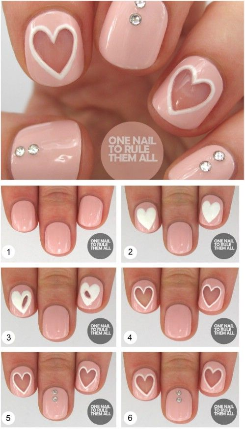 20 Ridiculously Cute Valentine S Day Nail Art Designs 2375218