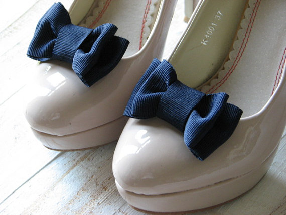Navy Blue Shoe Clips Something Blue Navy Shoe Clips Navy Blue ...