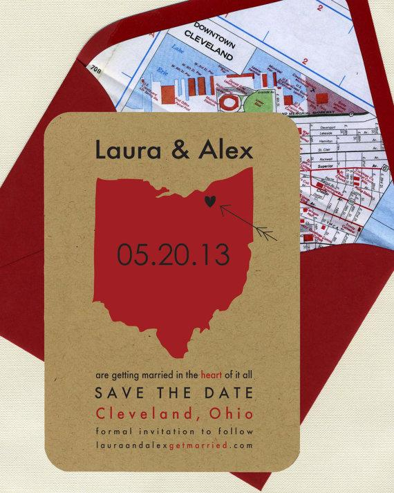 Wedding - State It Save the Dates