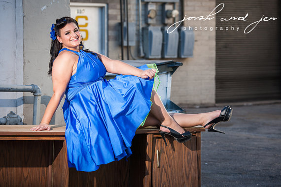 S Rockabilly Wrap Twist Dress With Petticoat Bridesmaids - Rockabilly car show