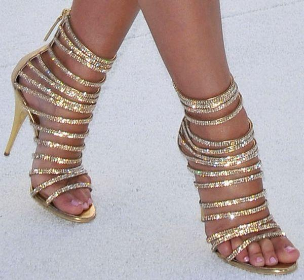 Mariage - Standout Shoes At The 2010 MTV Movie Awards