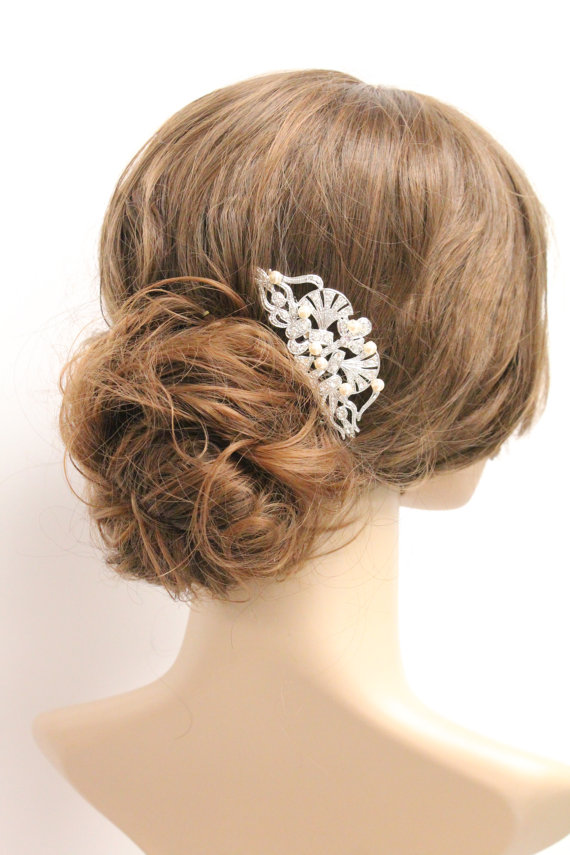 Bridal Hair Accessories Wedding Jewelry Combs Hairpieces Headpieces 1920 S