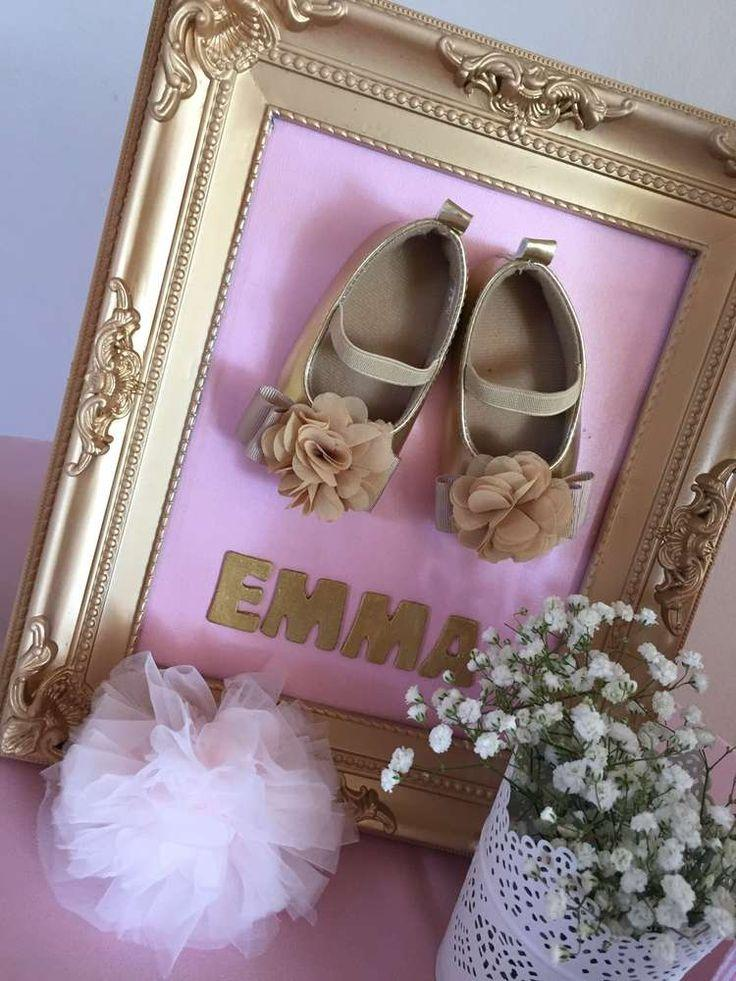 Hochzeit - Pink And Gold Baby Shower Baby Shower Party Ideas