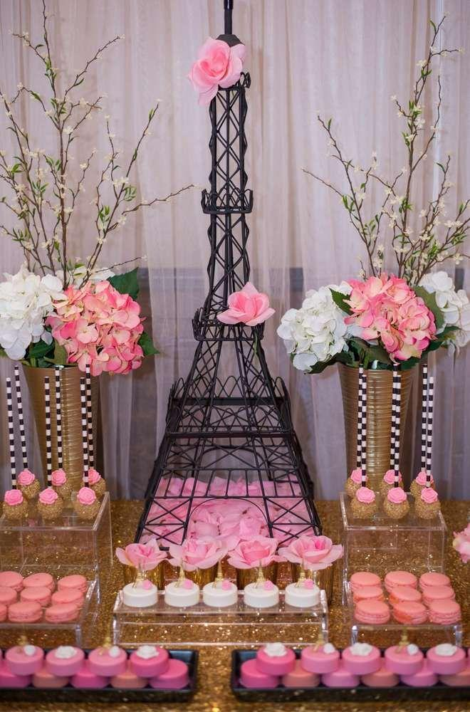 French Parisian Bridalwedding Shower Party Ideas 2375740 Weddbook