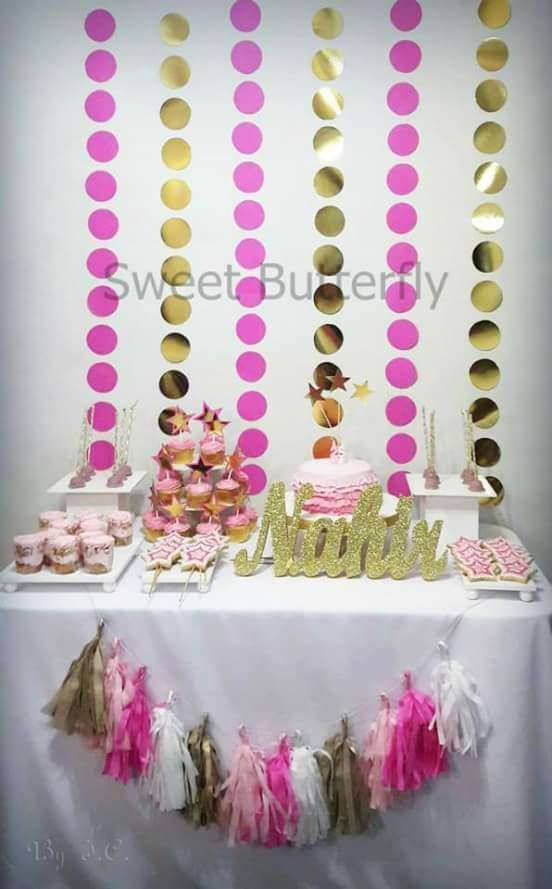 Mariage - Pink & Gold Birthday Party Ideas