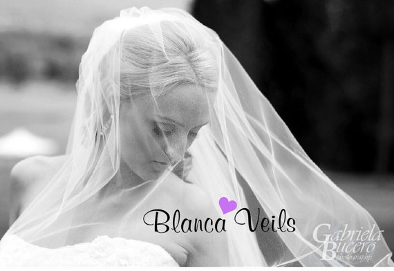 Hochzeit - Add Blusher To Any Veil