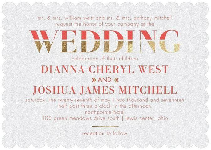 Wedding - Direct Devotion - Shimmer Wedding Invitations In Chambord Or Bay