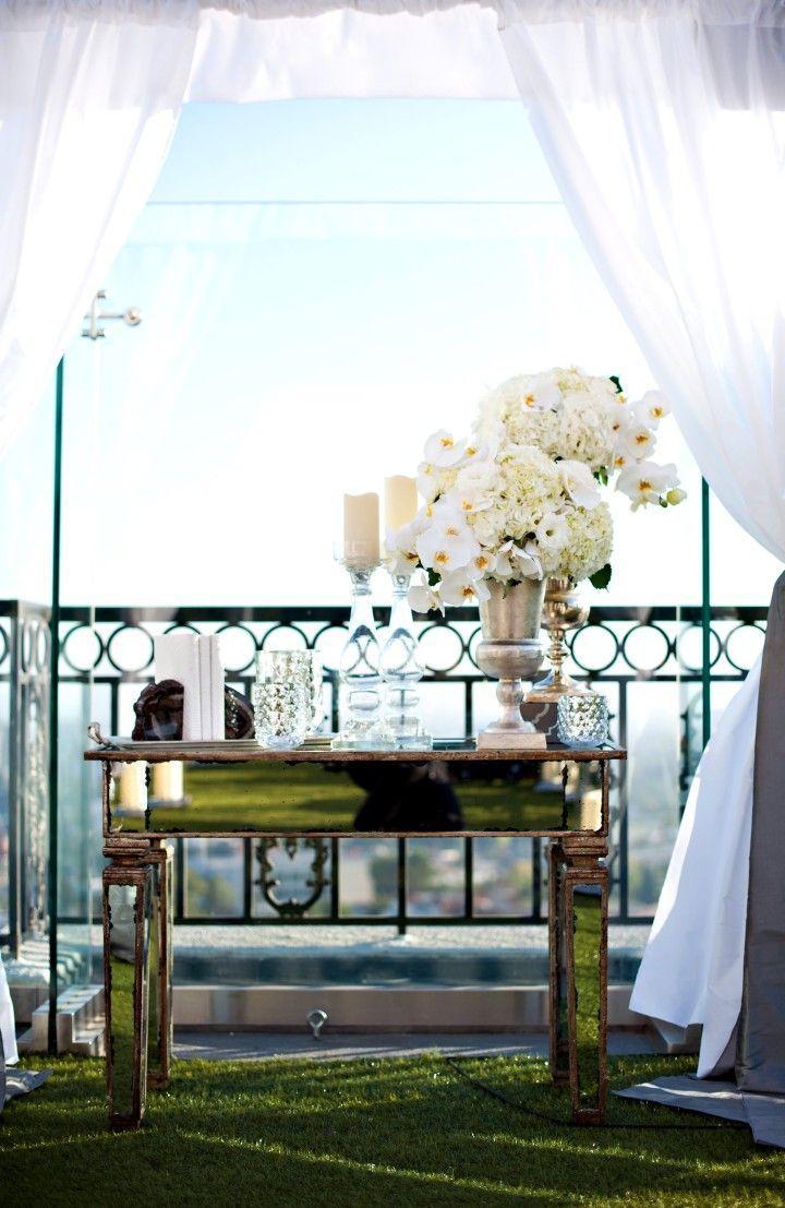 Hochzeit - Los Angeles Wedding: White Orchid Heaven