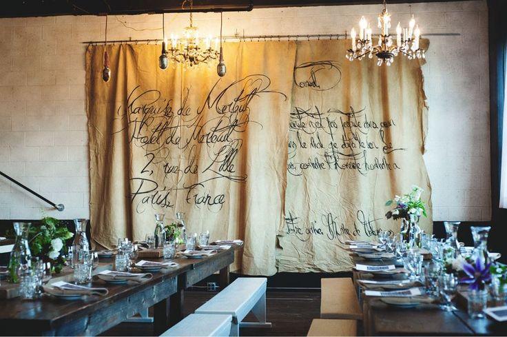 Hochzeit - Association Dinner Series