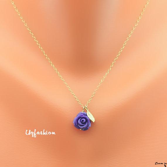 زفاف - Bridesmaids, flower girl gift, bridal gift set, wedding gift set, wedding necklace, personalized necklace, flower girl jewelry, monogram