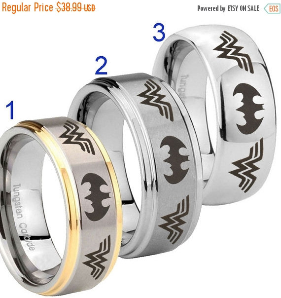 Where To Buy Wonder Woman Tungsten Ring