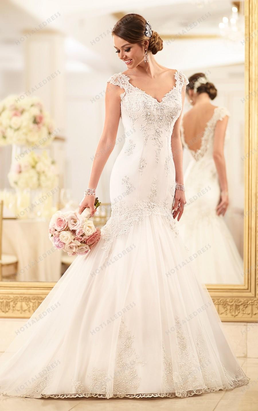 Свадьба - Stella York Lace Wedding Dress Style 6001