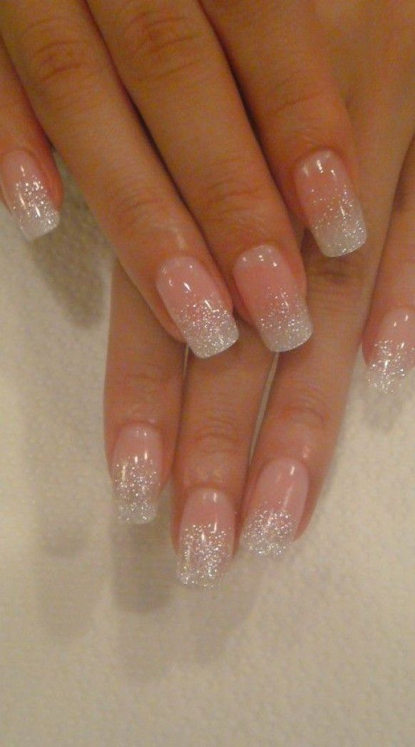 Nagel 13 Fabulous Wedding Day Nail Designs 2376830 Weddbook
