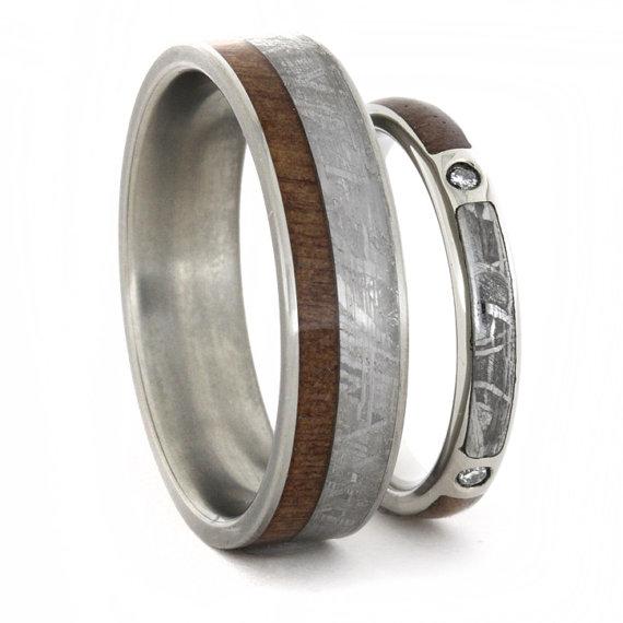 Wedding Ring Set Diamond Engagement Ring And Wedding Band With