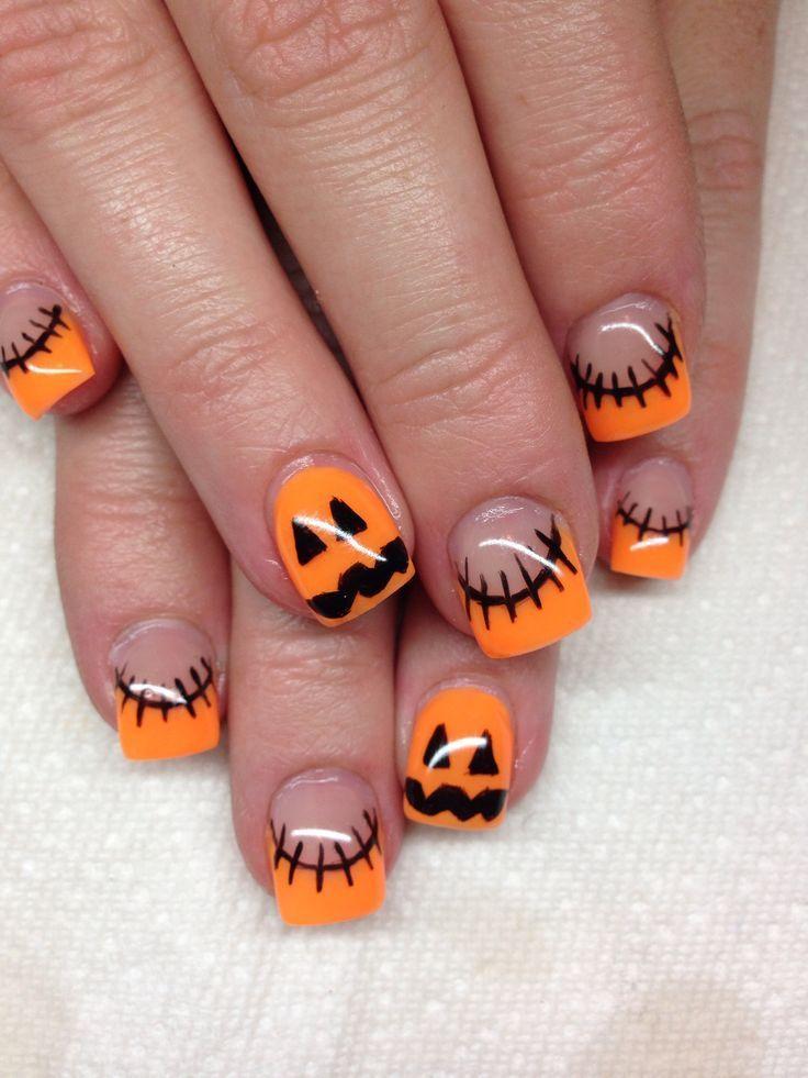 زفاف - 18 Pumpkin Manicures Even Halloween Haters Will Want To Wear