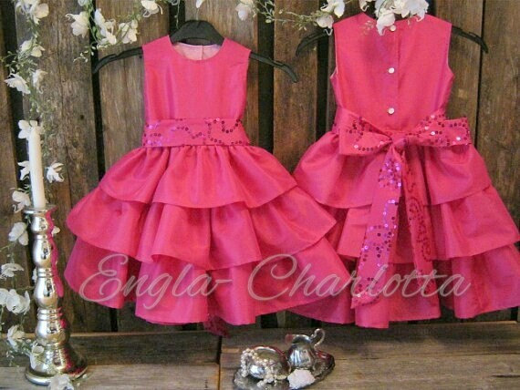 Hot Pink Girl Dress