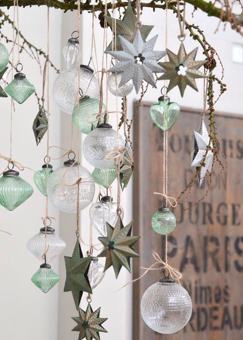Wedding - Vintage Christmas Decorating Ideas