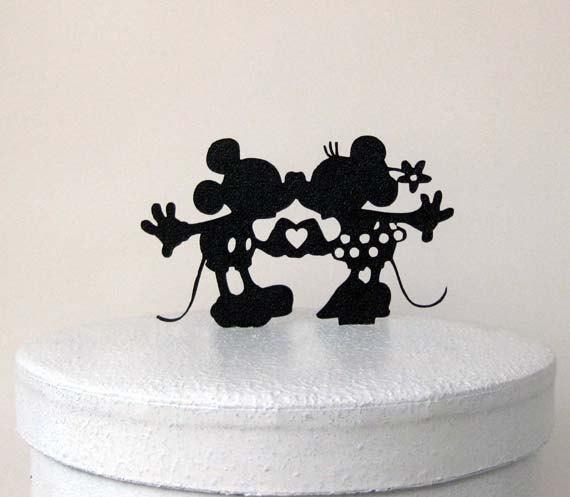 Свадьба - Wedding Cake Topper - Mickey and Minni Wedding