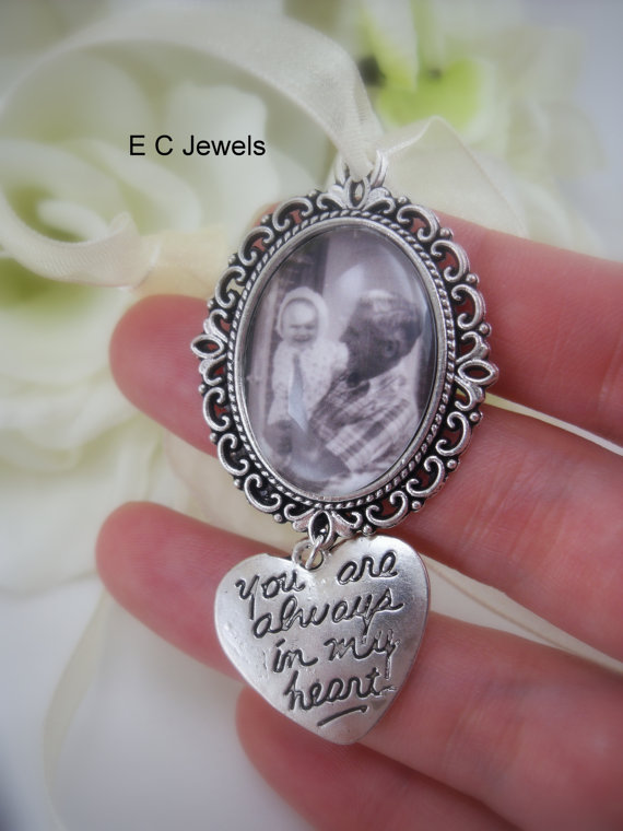 زفاف - Custom Photo Bouquet Charm