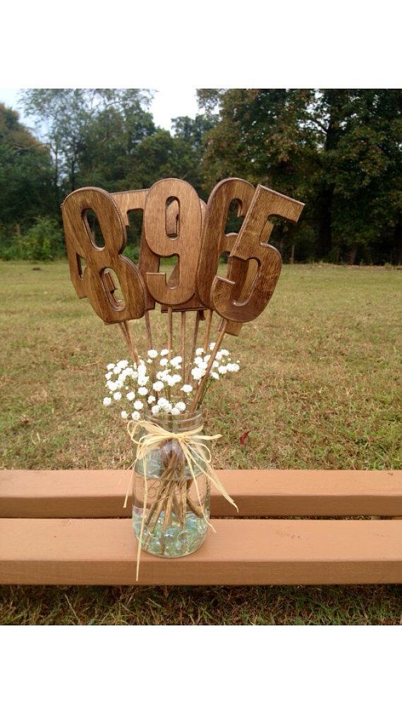 زفاف - Rustic Wedding Table Numbers - Shabby Chic Wedding - Wooden Table Numbers - Rustic Wedding - Country Barn