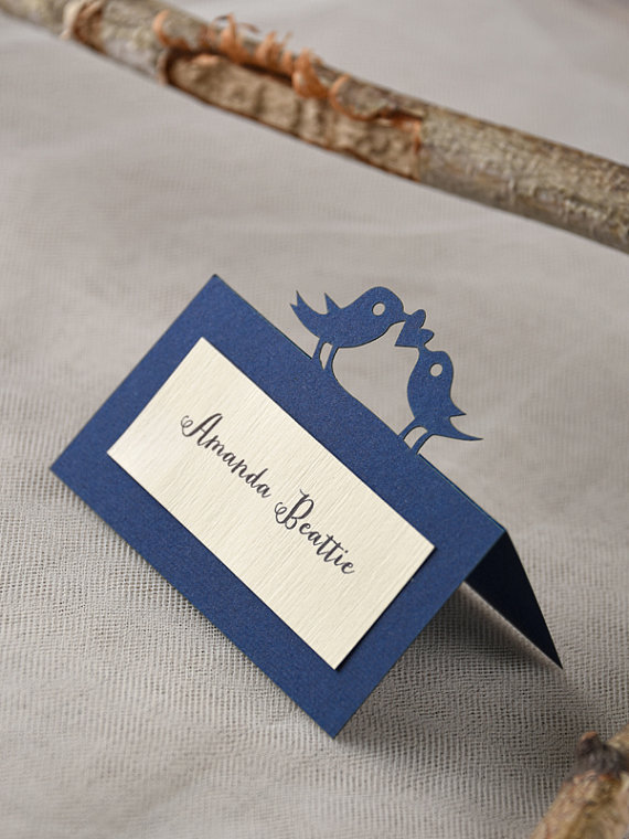 how to make tented escort cards