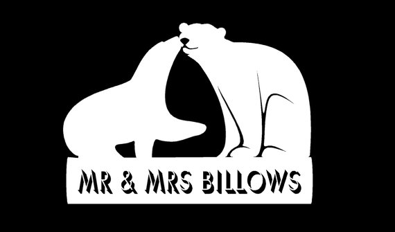 Mariage - Custom Wedding Cake Topper & Keepsake - Perfect for the Woodland Themed Wedding, Pair of Polar Bear with Phrase or Names