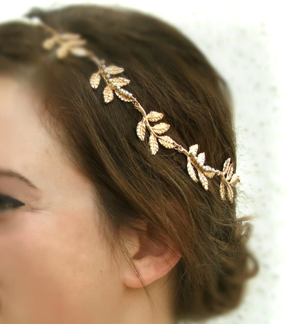 Gold Leaf Hair Piece 41241c1efa1