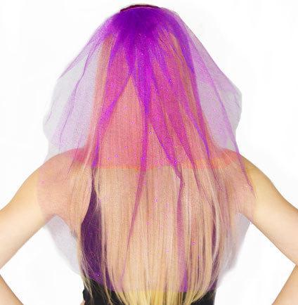 Wedding - Sparkle Tulle Veil- Double Layer