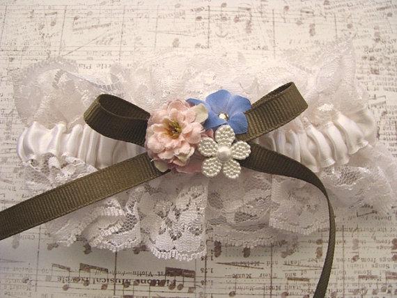 Wedding - English Countryside Wedding Garter