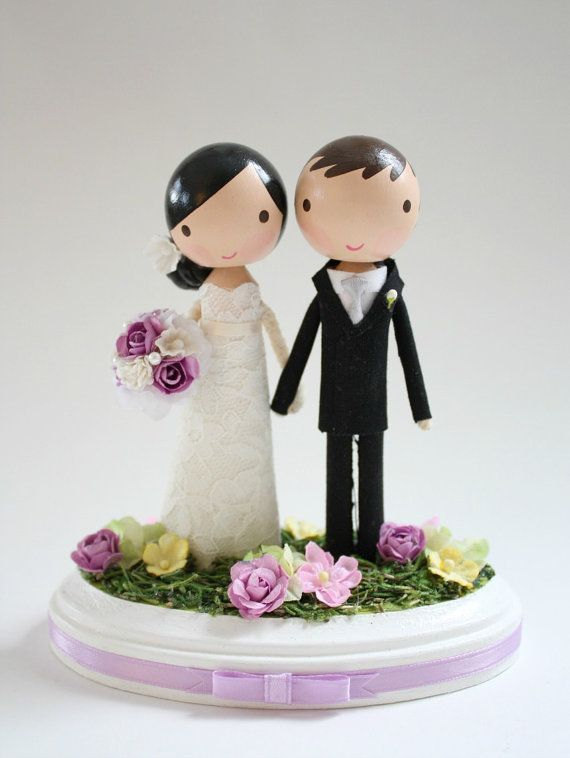 Mariage - custom wedding cake topper