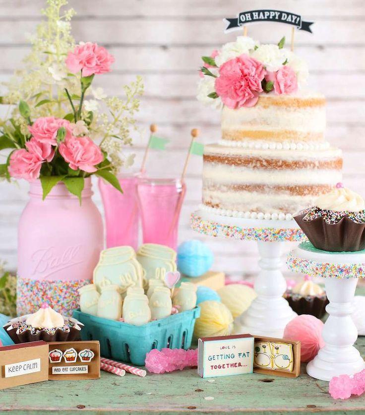 bridal shower wedding shower shower party ideas