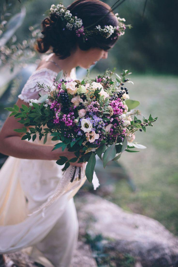 Свадьба - A Temperley Dress For A Flower-Filled And Rustic Italian Wedding