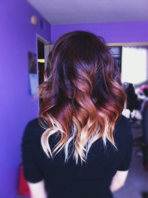 Свадьба - 40 Hottest Ombre Hair Color Ideas For 2015 - Ombre Hairstyles