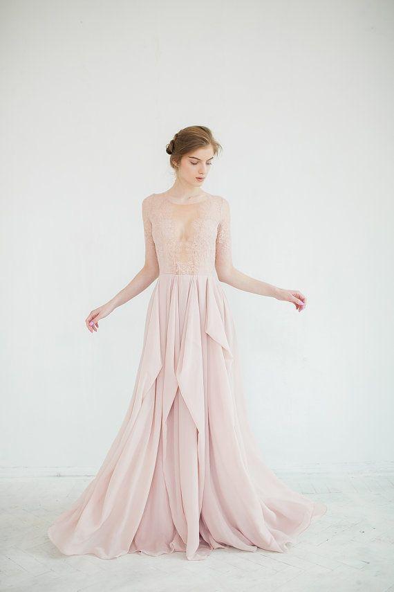 Wedding - Blush Wedding Dress // Magnolia
