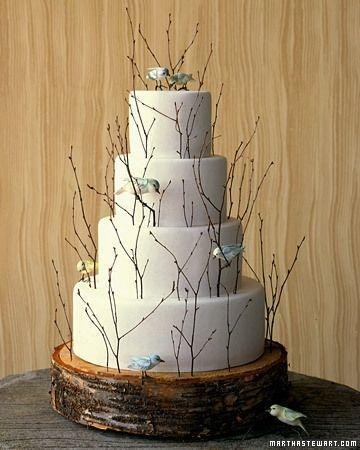 Украшение для торта из дерева