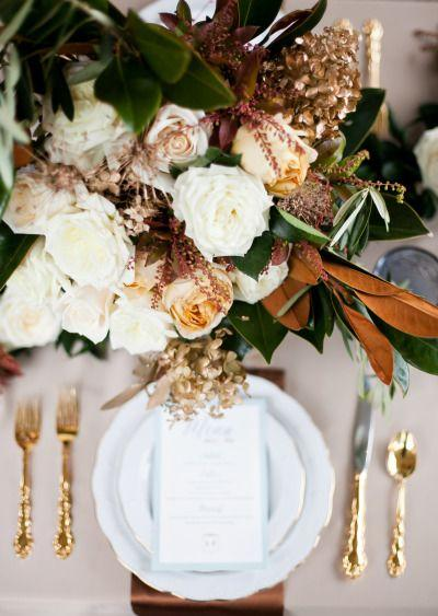 Mariage - Southern Winter Romance Style Shoot At CJ's Off The Square